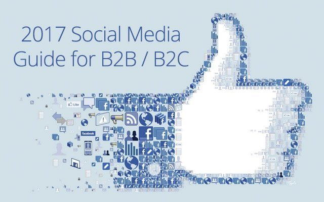 2017 Social Media Guide for B2B & B2C Success